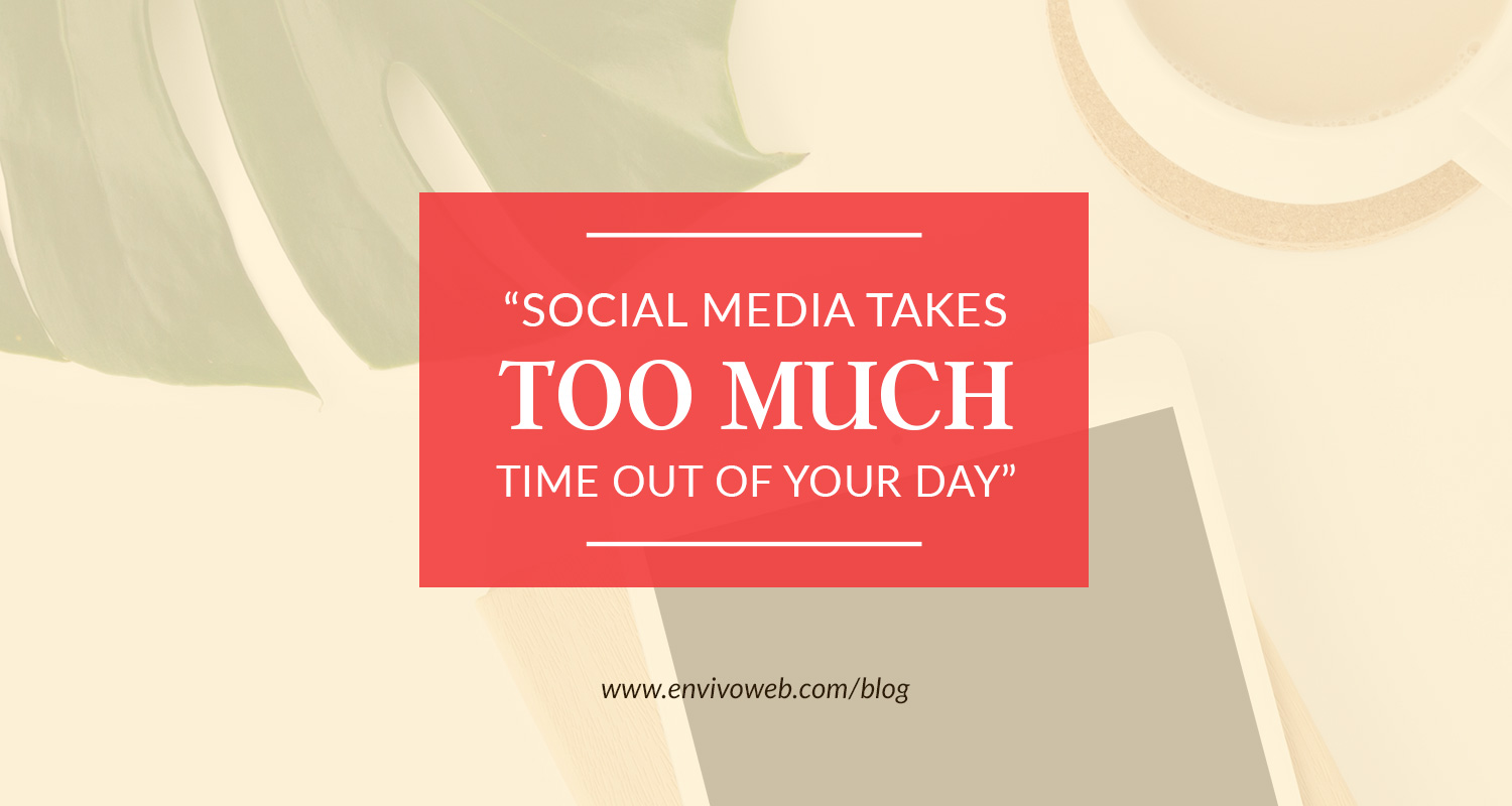 """Social Media Takes Too Much Time Out of Your Day"""